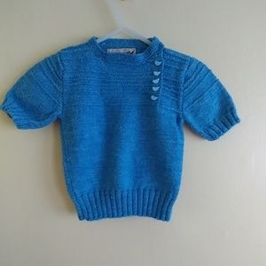 Adorable Hand Knitted Toddler Sweater